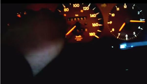 Mercedes 124 Dashboard Lights Not Working